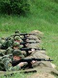 Soldiers' Firing Practice